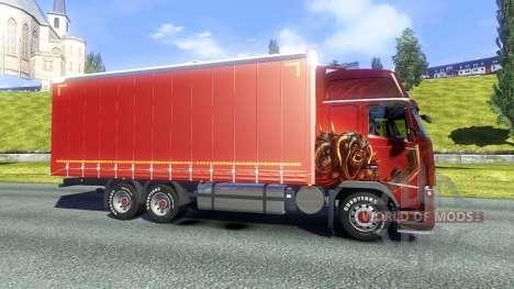 Volvo FH16 2012 BDF для Euro Truck Simulator 2