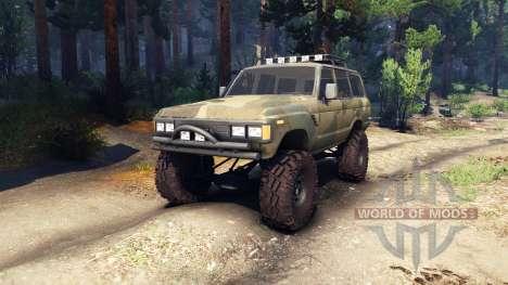 Toyota Land Cruiser 60 v1.1 для Spin Tires
