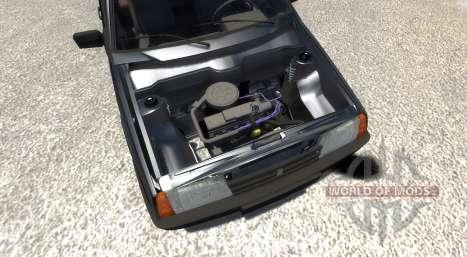 ВАЗ-21099 Black Edition для BeamNG Drive