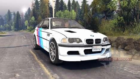 BMW M3 для Spin Tires