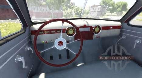 ГАЗ-М-20 Победа для BeamNG Drive
