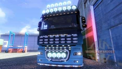 DAF XF Tuning Light для Euro Truck Simulator 2