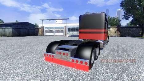 Kenworth W900L для Euro Truck Simulator 2