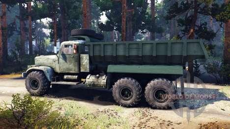 КрАЗ-255 v3.0 для Spin Tires