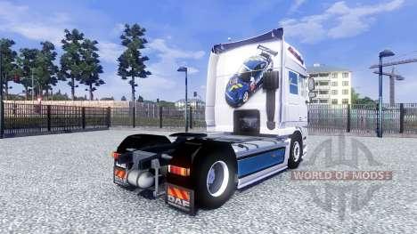 DAF XF Tuning Felbermayr для Euro Truck Simulator 2