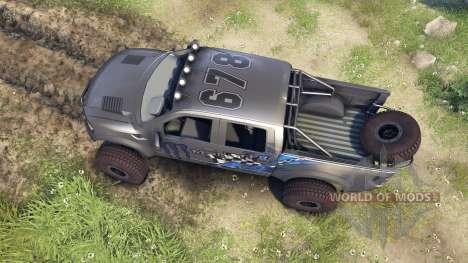 Ford Raptor Pre-Runner monster для Spin Tires