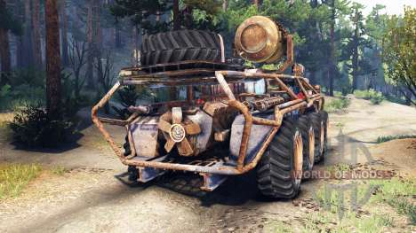 БТР Монго для Spin Tires