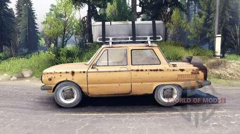 ЗАЗ-968М v0.2 для Spin Tires