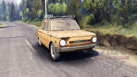 ЗАЗ-968М v0.1 для Spin Tires