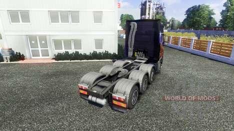 Volvo FH16 8x4 v2.0 super control для Euro Truck Simulator 2