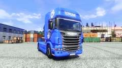 Скин V8 Topline на тягач Scania