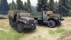Урал-375 и 4320-01 для Spin Tires