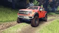 Ford Raptor SVT v1.2 factory comp orange