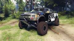 Ford Raptor Pre-Runner v1.1 fox для Spin Tires