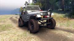Jeep YJ 1987 Open Top silver