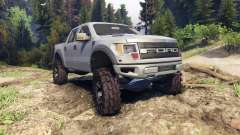 Ford Raptor SVT v1.2 matte gray