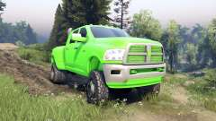 Dodge Ram 3500 dually v1.1 green