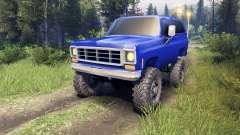 Chevrolet K5 Blazer 1975 v2.5 blue