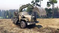 Урал-4320 с новыми погрузчиками