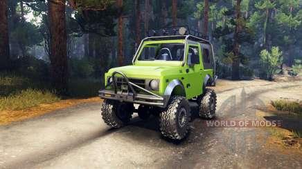 Suzuki Samurai Extreme для Spin Tires