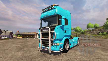 Scania R560 blue для Farming Simulator 2013