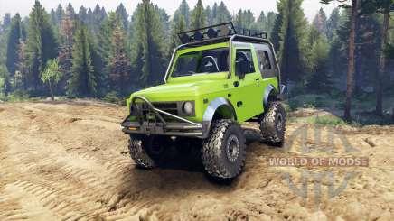 Suzuki Samurai Extreme v1.5 для Spin Tires