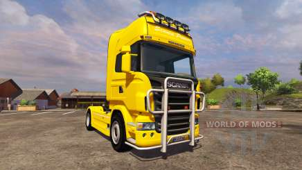 Scania R560 yellow для Farming Simulator 2013