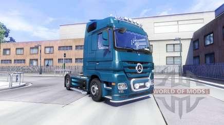 Mercedes-Benz Actros для Euro Truck Simulator 2