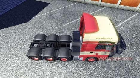 Скин Torben rafn на тягач MAN для Euro Truck Simulator 2