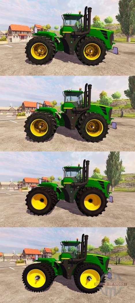 John Deere 9630 v2.0 [pack] для Farming Simulator 2013