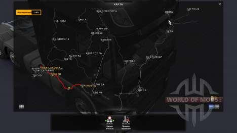 Карта России - Российские просторы для Euro Truck Simulator 2