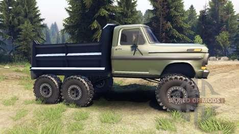 Ford F-100 6x6 v1.1 для Spin Tires