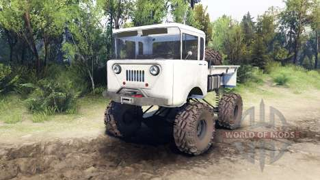 Jeep FC white для Spin Tires
