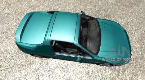 Honda CR-X del Sol SiR v1.1 для BeamNG Drive
