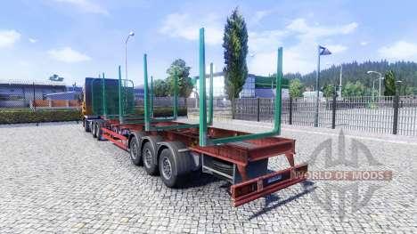 Пустой полуприцеп для Euro Truck Simulator 2