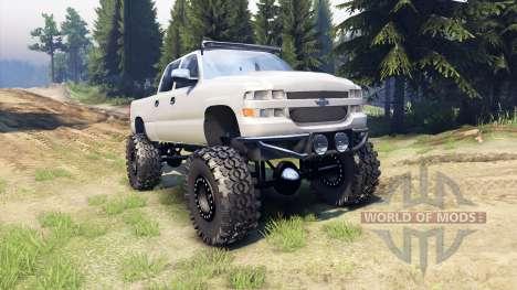 Chevrolet Silverado 2500 Duramax v1.1 для Spin Tires