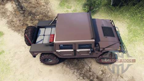 Hummer H1 metalic pewter для Spin Tires