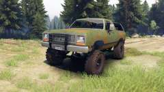 Dodge Ramcharger 1985 v1.0