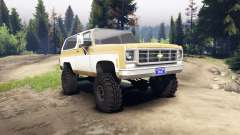 Chevrolet K5 Blazer 1975 light saddle and white