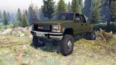 GMC Suburban 1995 Crew Cab Dually green