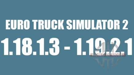 Патч 1.8.1.3 - 1.9.21 для Euro Truck Simulator 2