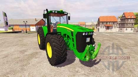 John Deere 8530 v5.0 для Farming Simulator 2013