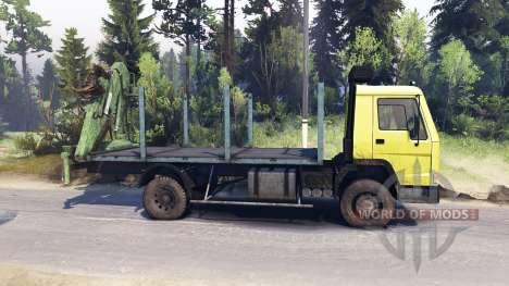 Volvo FL7 для Spin Tires