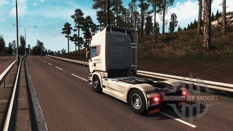 Реалистичная графика для Euro Truck Simulator 2