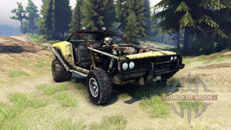 Dodge HL2 stock для Spin Tires