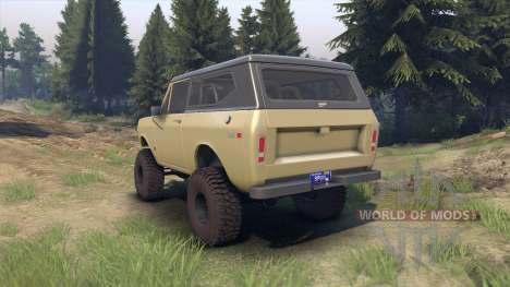 International Scout II 1977 elk для Spin Tires