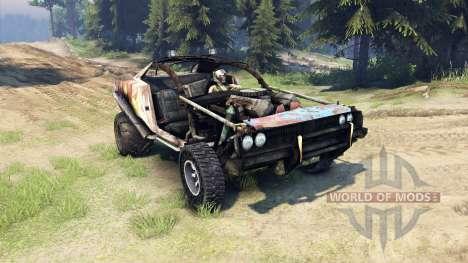 Dodge HL2 rusty2 для Spin Tires