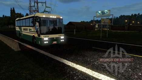 Пассажирские перевозки для Euro Truck Simulator 2