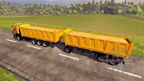 Scania P380 v2.0 для Farming Simulator 2013