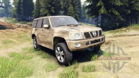 Nissan Patrol 2005 для Spin Tires